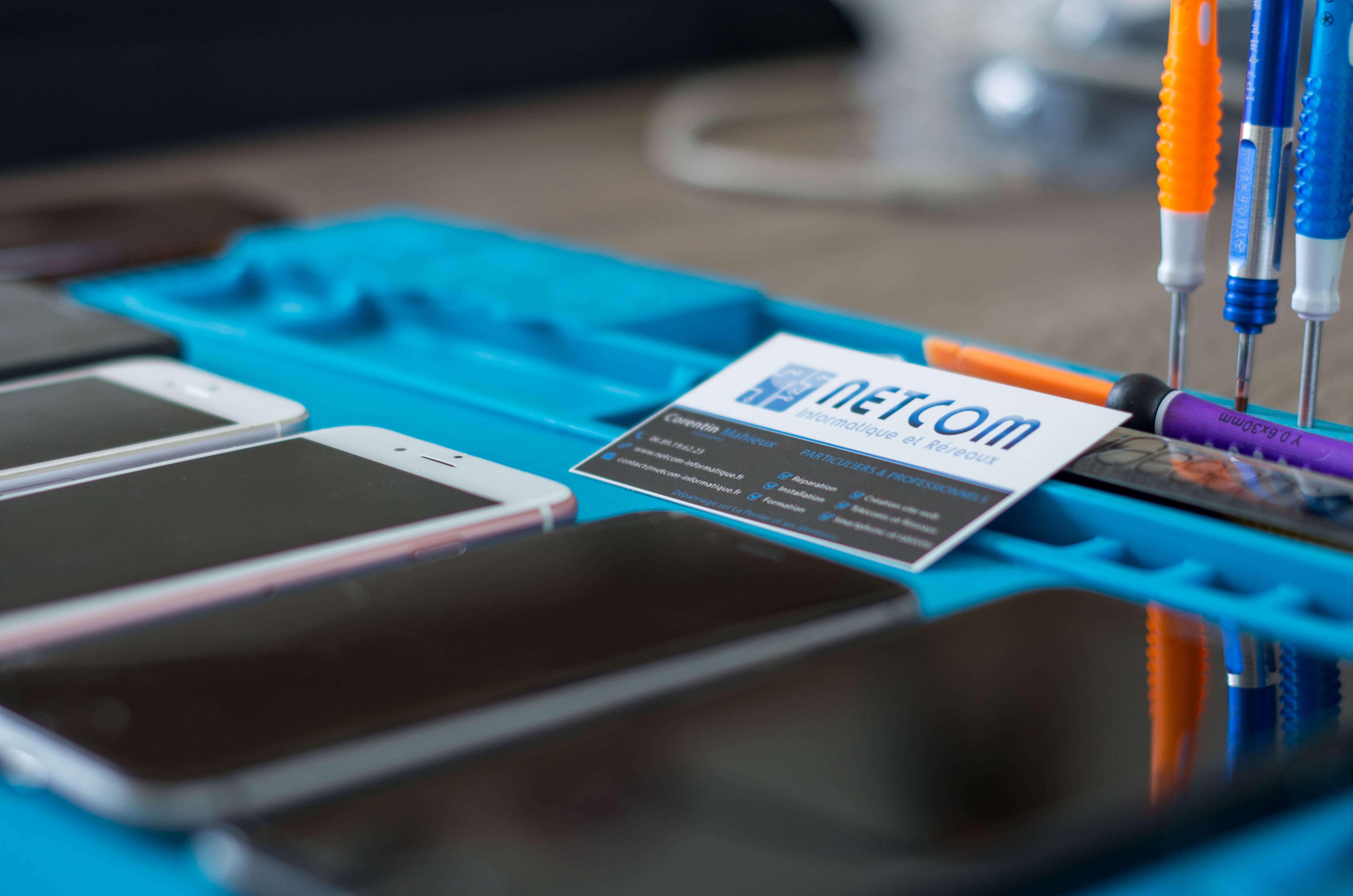 reparation smartphone téléphone samsung iphone sur challans et saint jean de monts ecran cassé remplacement batterie