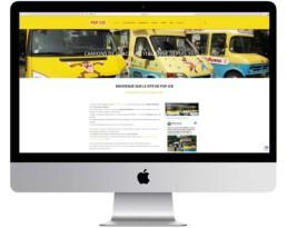 creation site internet pop ice noirmoutier camion de glace netcom informatique