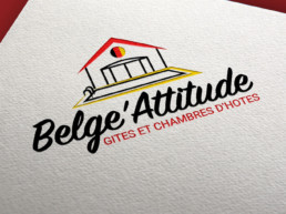 realisation logo vendee belge attitude friterie commequiers gite