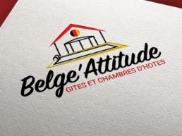 realisation logo vendee belge attitude friterie commequiers gite
