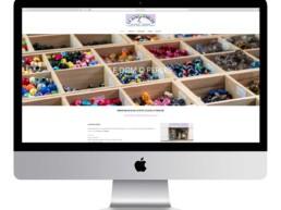 réalisation site internet le dom o perles a aizenay vente bijoux netcom informatique