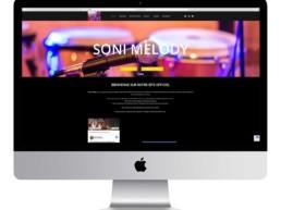 réalisation site internet soni melody a saint jean de monts groupe musique netcom informatique